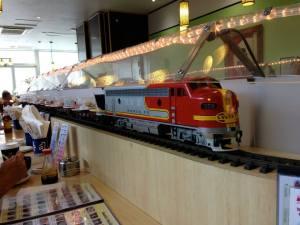 the sushi train